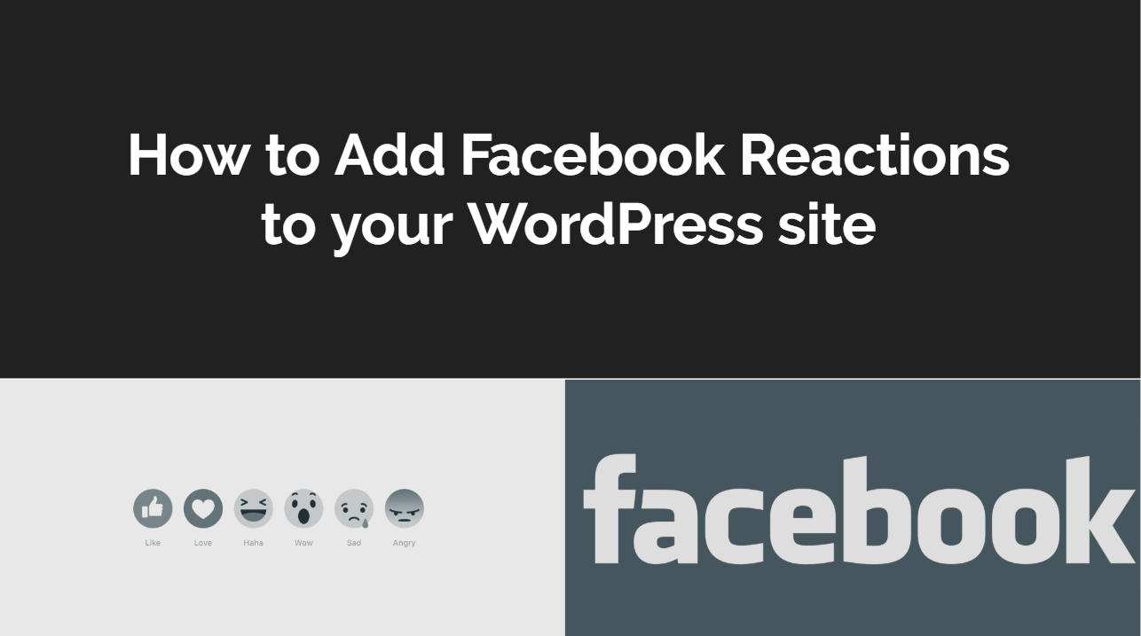 How to Add Facebook Reactions to WordPress