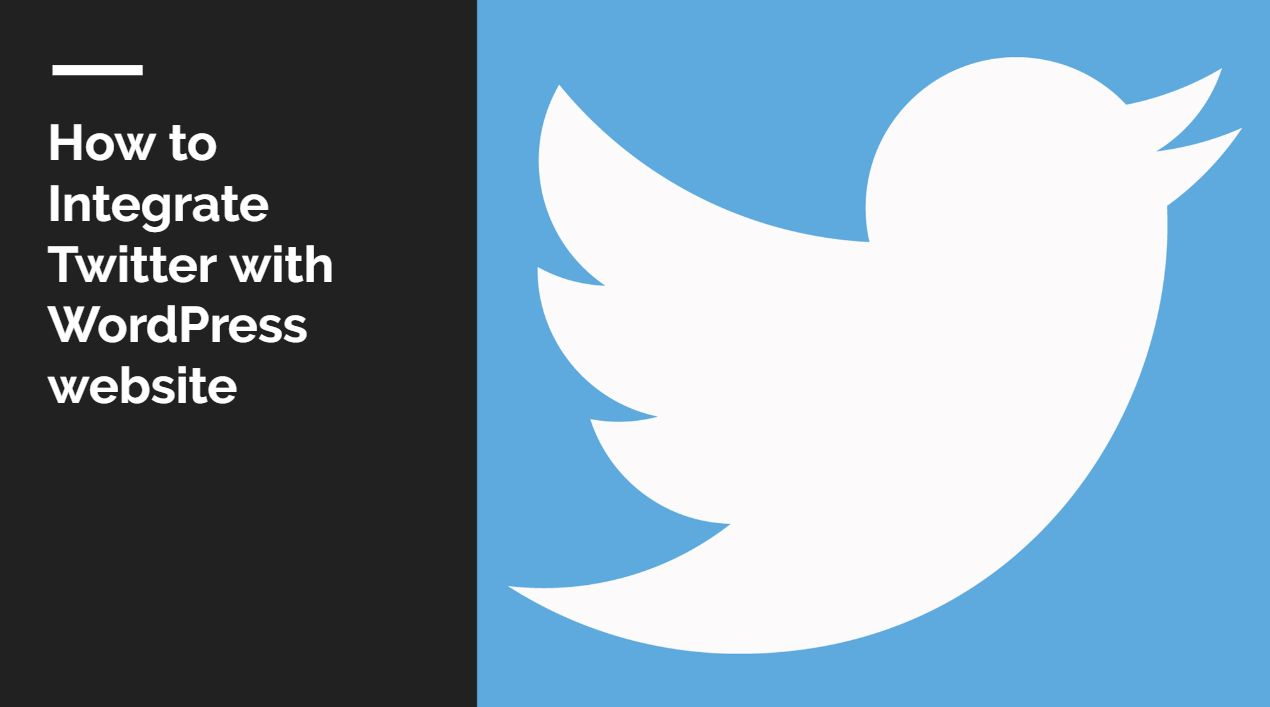 How to Integrate Twitter in WordPress