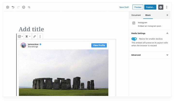 How to Show Instagram Photos in WordPress