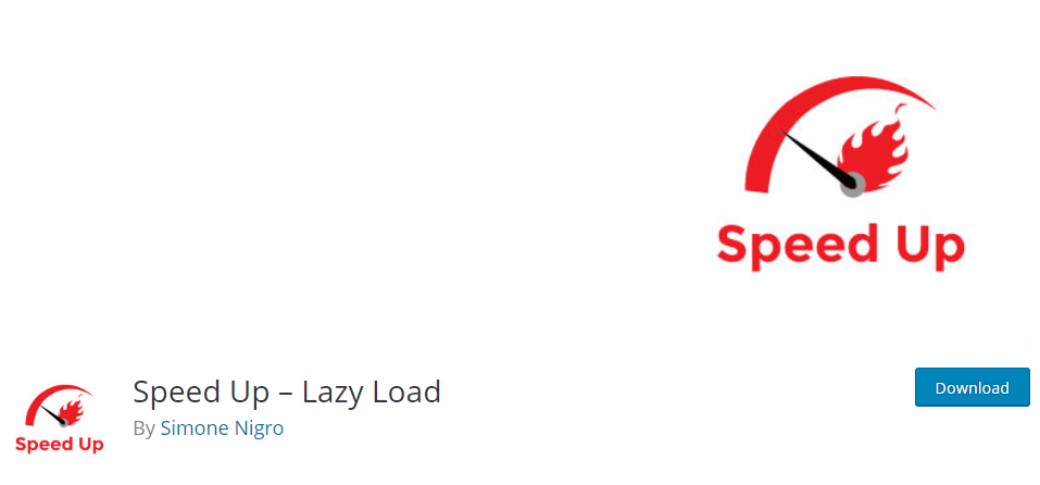 Speed Up – Lazy Load