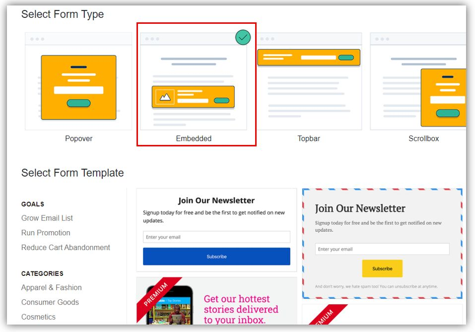 MailMunch Review-: Create beautiful opt-in forms without writing a single line of code