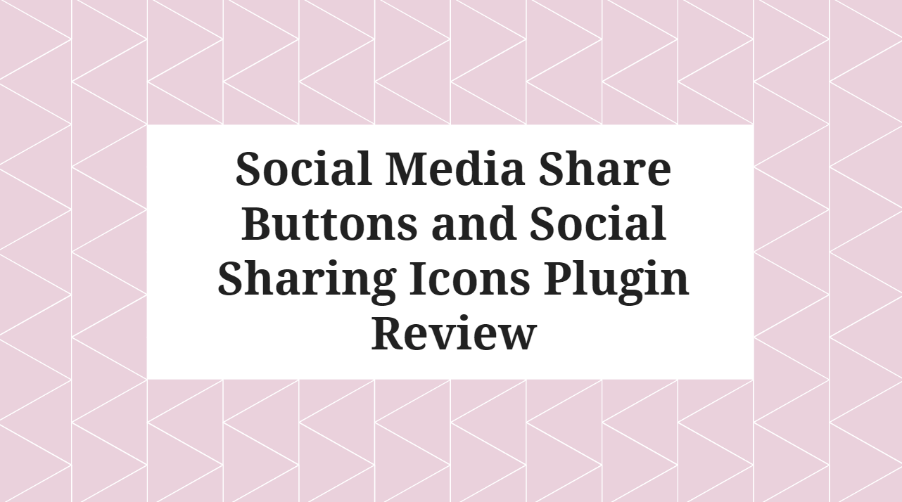 How to Add Social Media Sharing Icon in WordPress