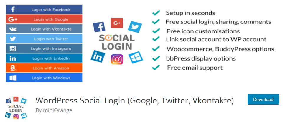 How to Add Social Logins to WordPress