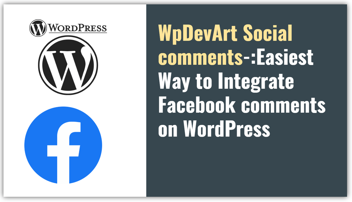 How to add Facebook comments in WordPress