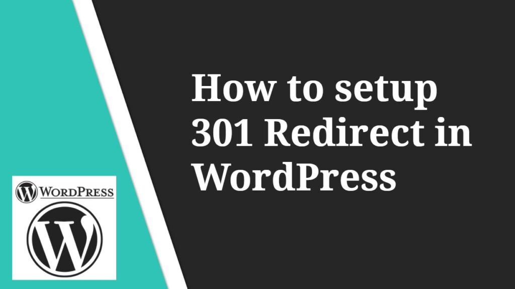 How to setup 301 Redirect in WordPress using Plugin